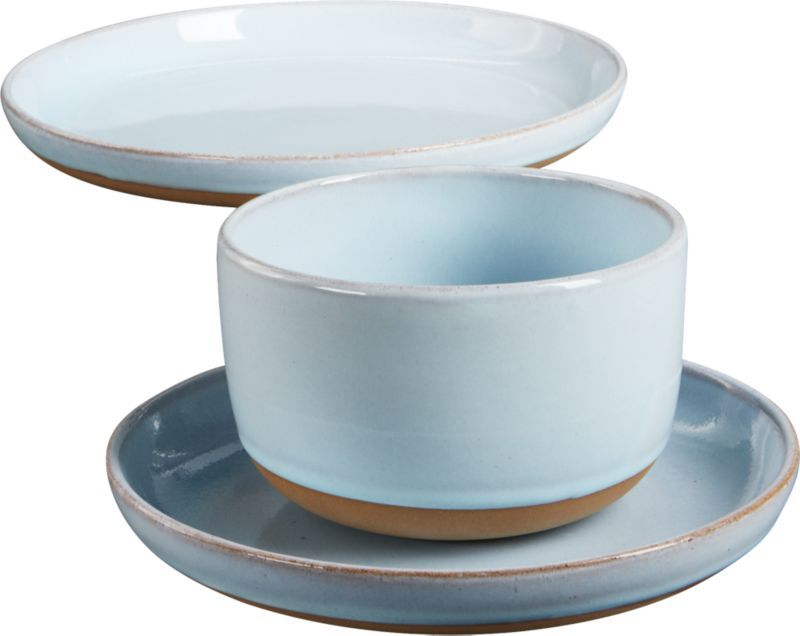 Beautiful Handthrown Stoneware Shows The Potteru0026 Skill With A Modern Two Tone Dip.