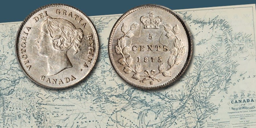 Stack's Bowers Galleries - World Coin Of The Week: Canada Five Cents Of Queen Victoria
