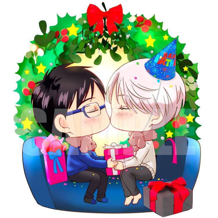 Yuri!!! on ice Acrylic Standee- Viktor's Christmas