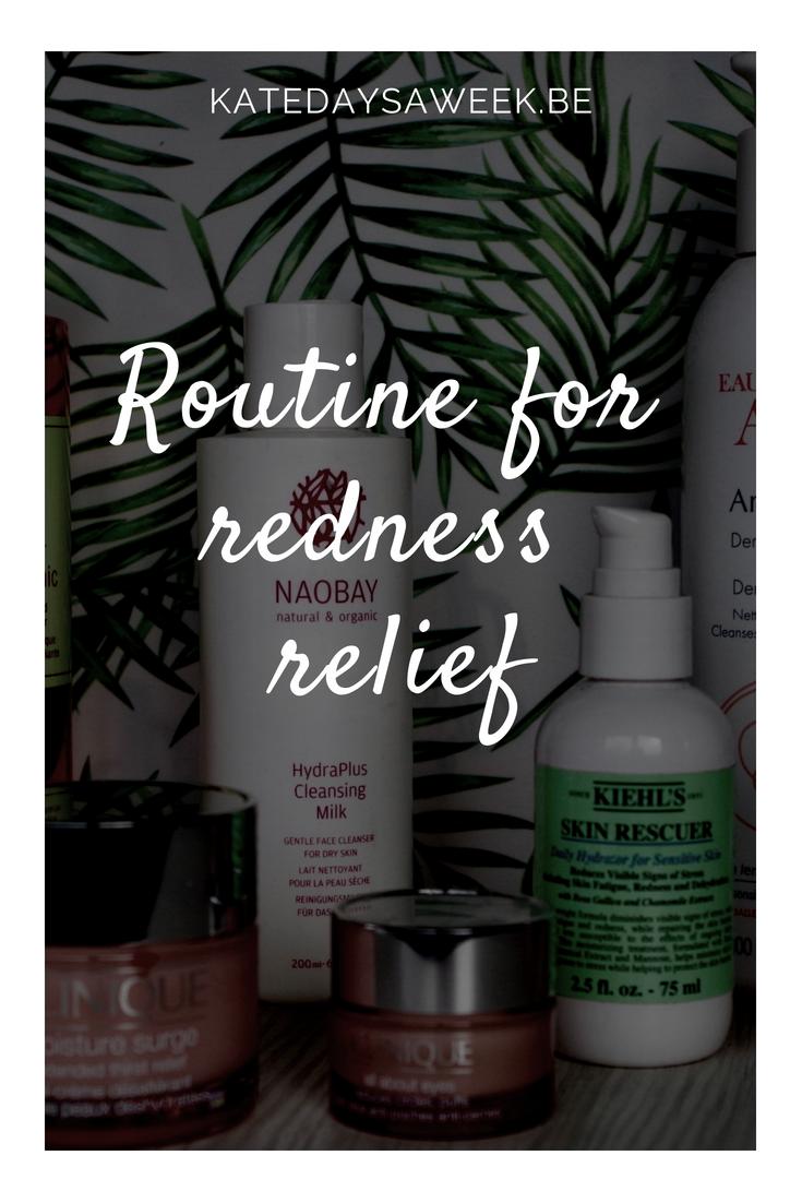 skin care for redness relief, rosacea, sensitive skin