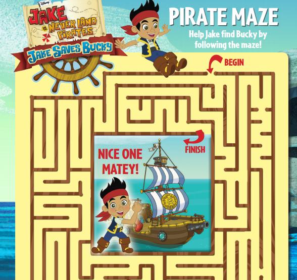 Jake and the Neverland Pirates: Jake Saves Bucky {DVD/Blu-Ray combo ...