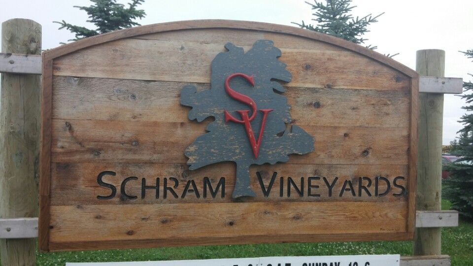 Schram Vineyards Vineyard Brewery Four Square
