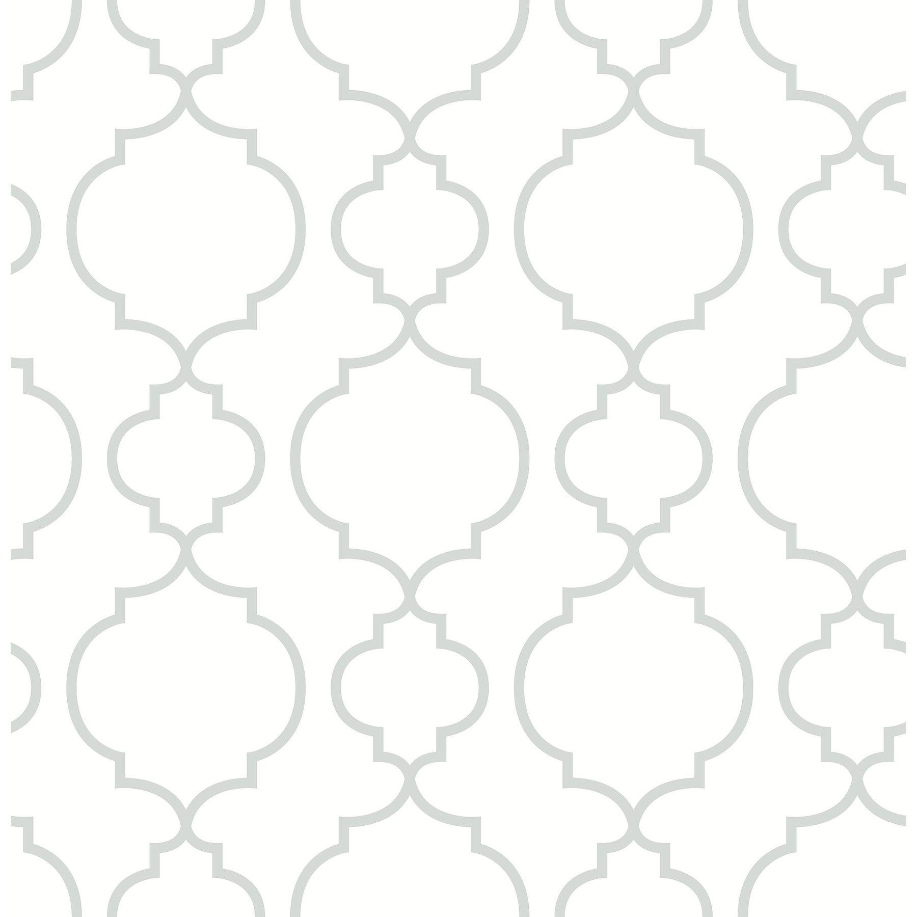 Customer Image Zoomed Quatrefoil Wallpaper Quatrefoil Trellis Wallpaper