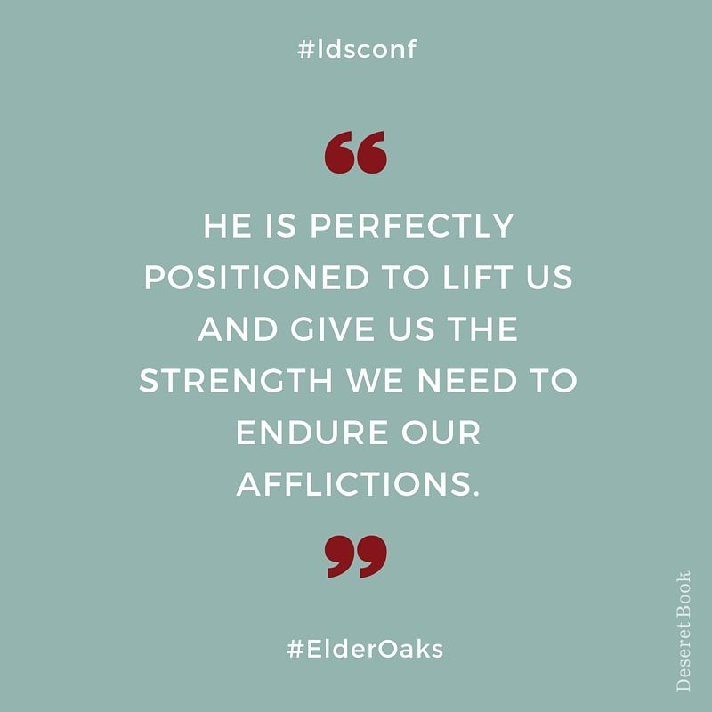 Endure To The End Ldsconf G E N E R A L C O N F E R E N C E