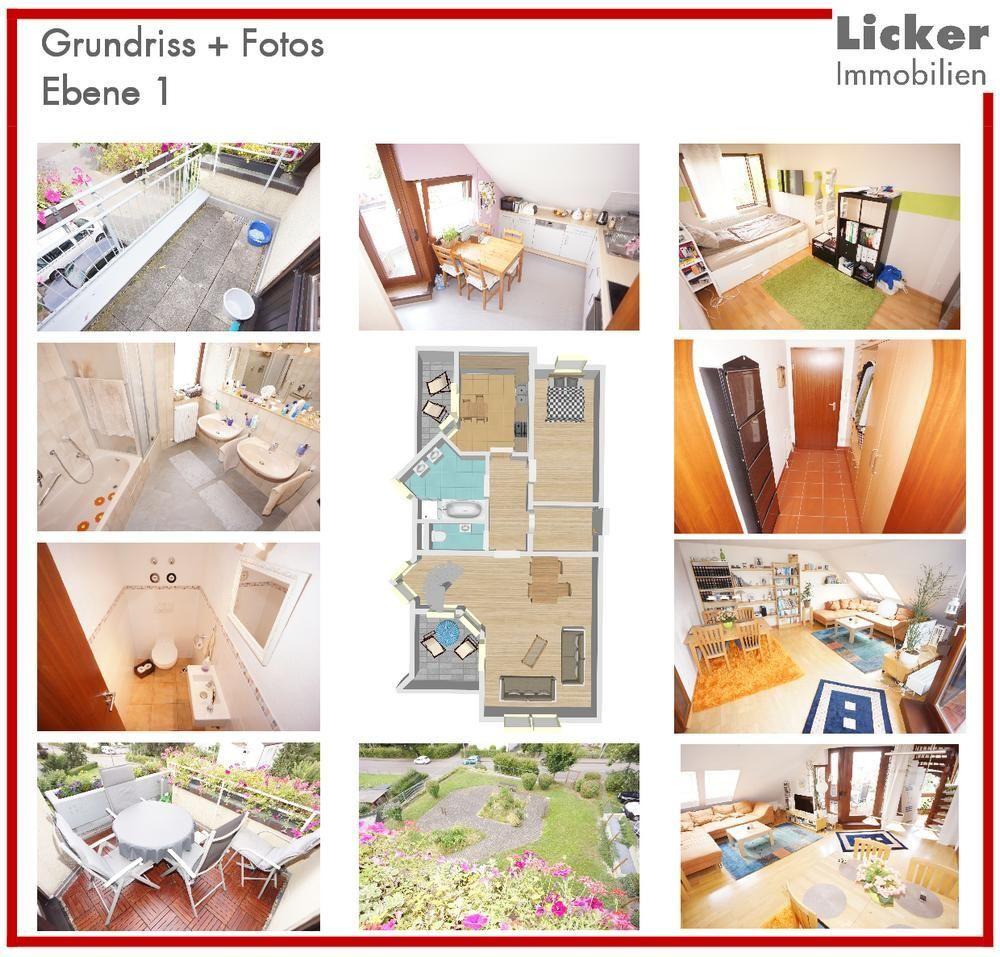 - Grundriss - Fotos - Ebene 1