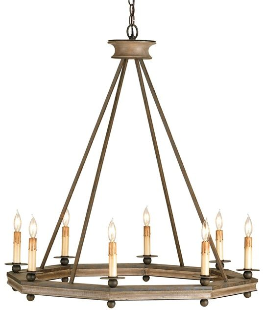 Attractive Bonfire Chandelier Lighting | Currey And Company