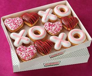 Krispy Kreme Buy One Get One Free Dozen Doughnuts And Free Vday