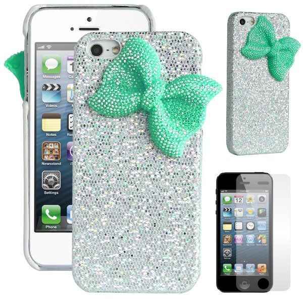 low priced b84fe ce36f Pandamimi ULAK(TM) Deluxe Sweety Girls Case Cover Decorated Bling ...