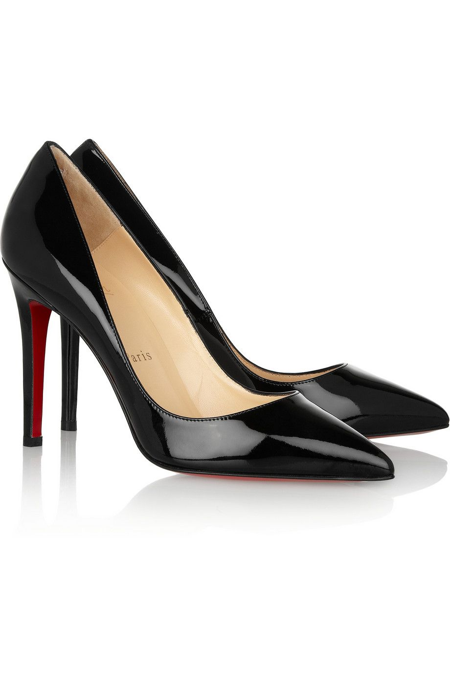 separation shoes 8fc03 69d28 Christian Louboutin | The Pigalle 100 patent-leather pumps ...