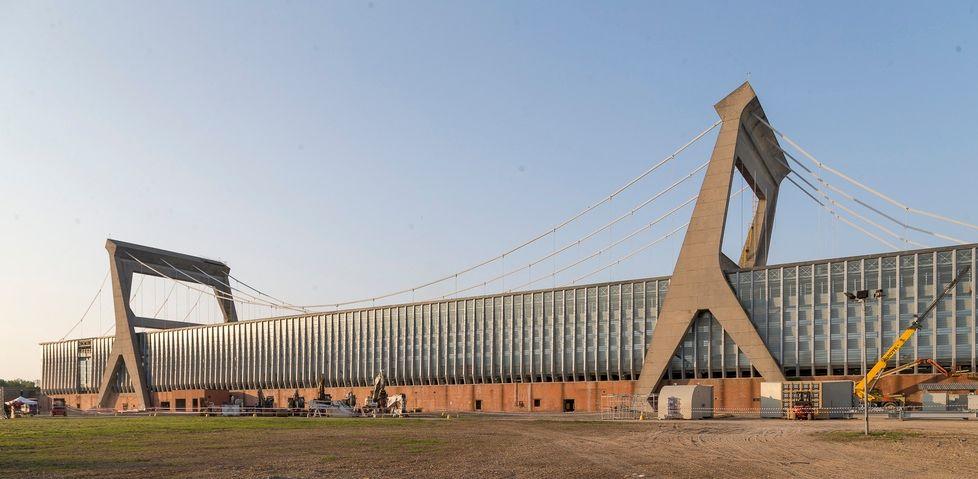 Cartiera burgo ora cartiera mantovana arch pier luigi for Mantovana moderna