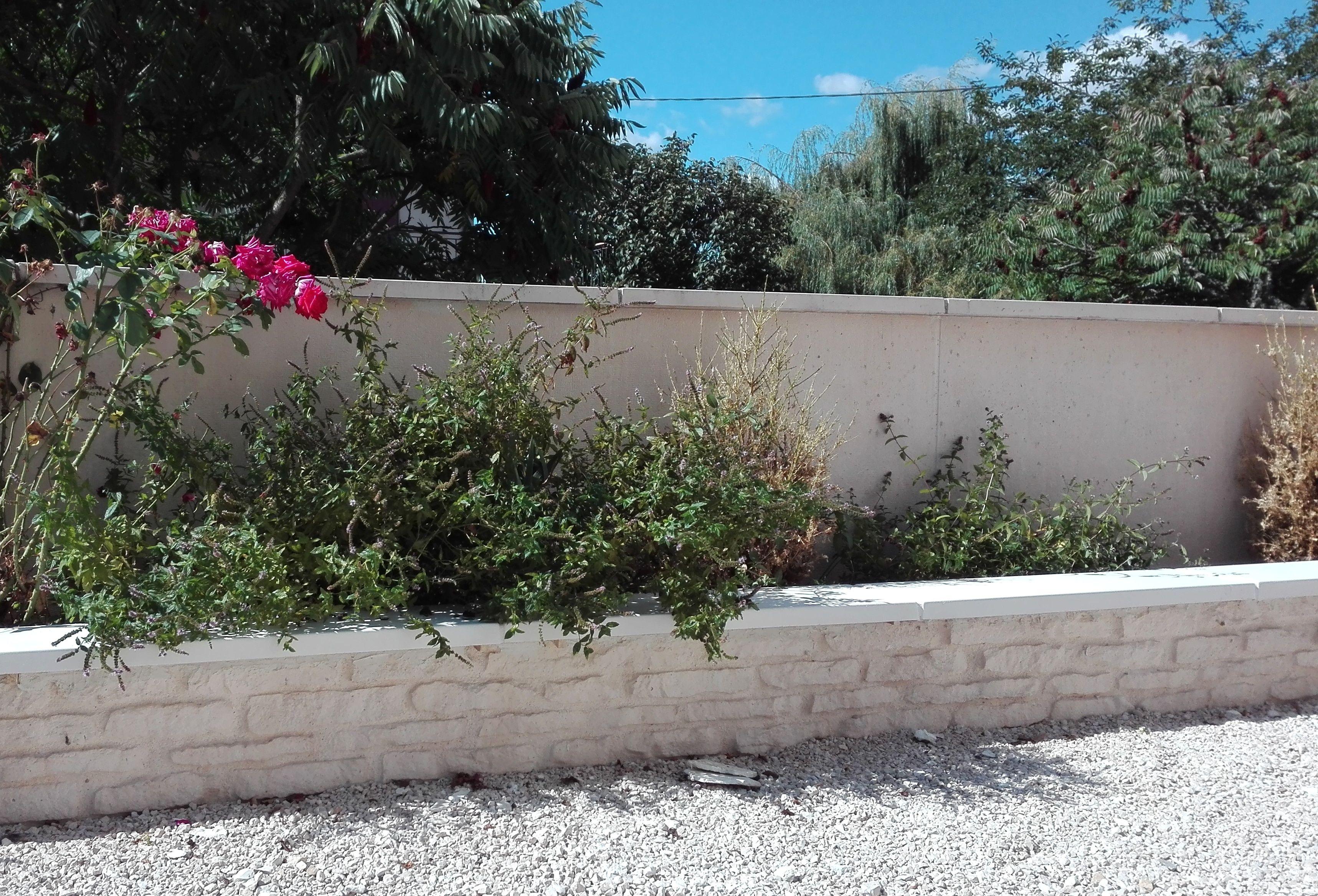 Mur Muret De Cloture Imitation Pierre Fabrique En Beton Ton Pierre Modele Droit Monobloc Muret Beton Prefabrique Pierre Reconstituee