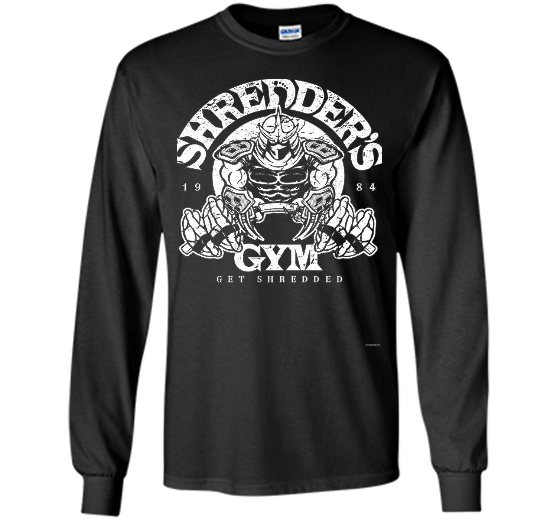 Shredder & Gym tshirt