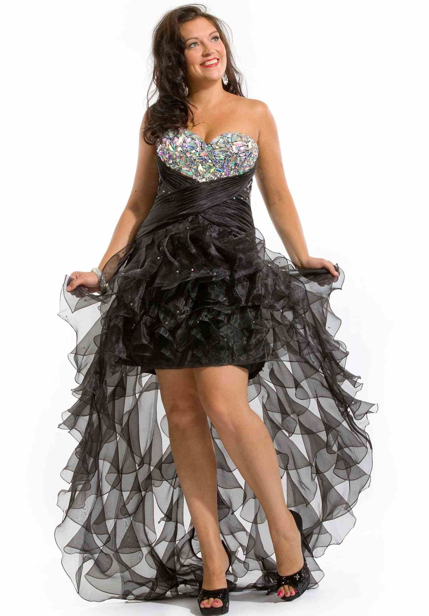 20 Perfect Plus Size Homecoming Dresses for Girls | Homecoming ...