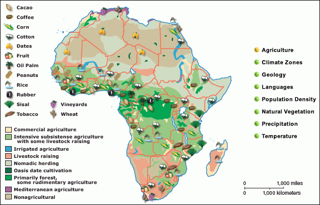 Image result for africa agriculture map | African art ideas