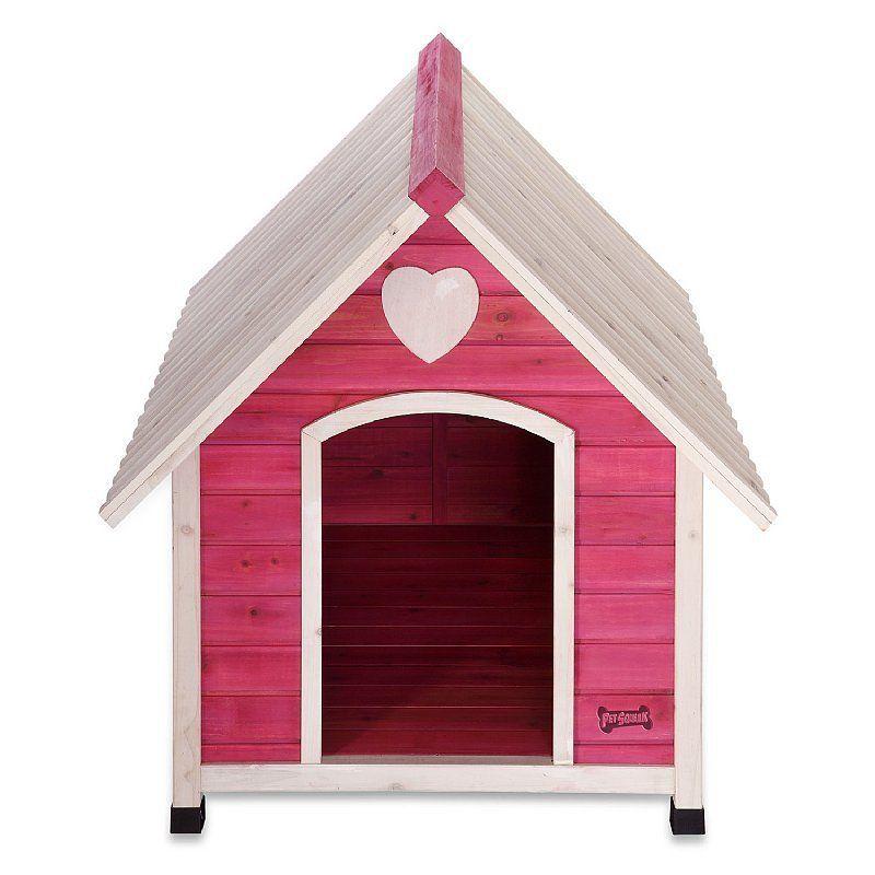 Girl Dog House Pink Large Dog House Insulated Dog House Wood