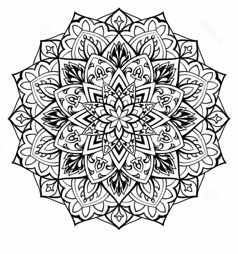 50 Mandala Vorlagen