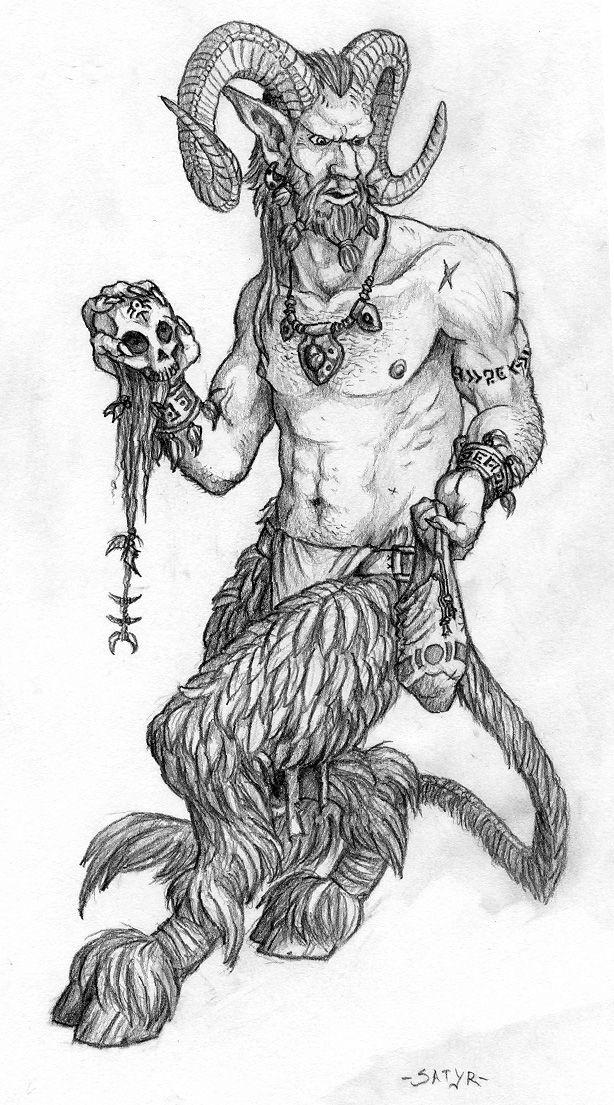 Satyr - half man half goat | Mythical Creatures ... - photo#22
