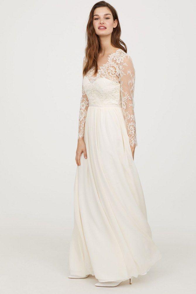 OMG! Es gibt jetzt Brautkleider bei H&M und sie sind sooo ...