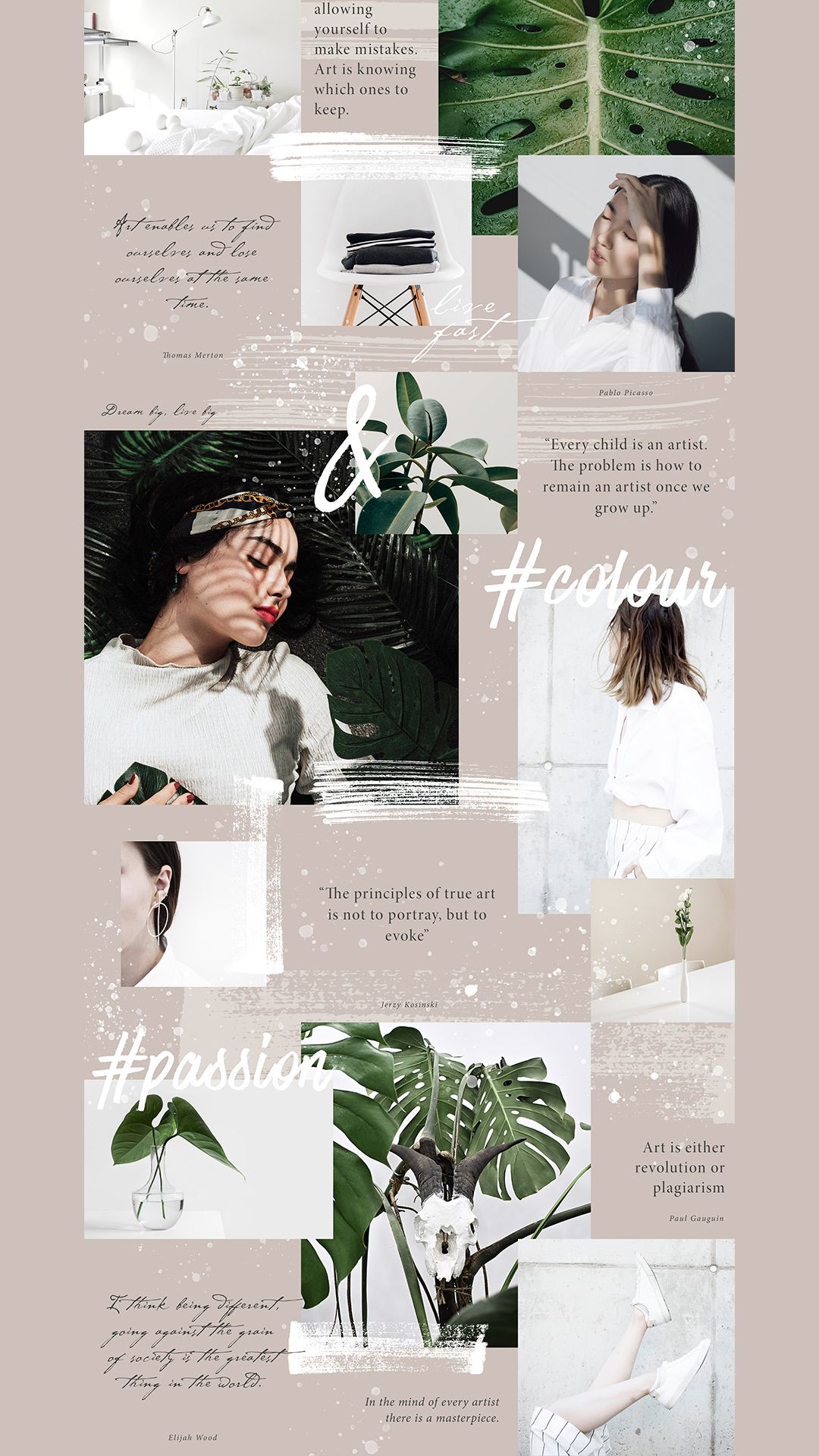 Creative Instagram Layout Ideas Instagram Puzzle Feed Template For Bloggers Inspirasi Desain Grafis Desain Grafis Kolase