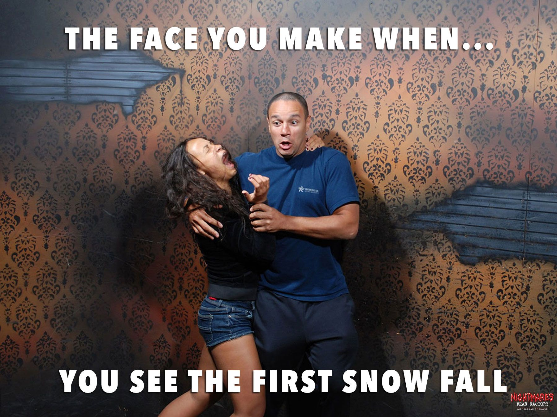 50 hilariously ridiculous haunted house reactions - Hilarious