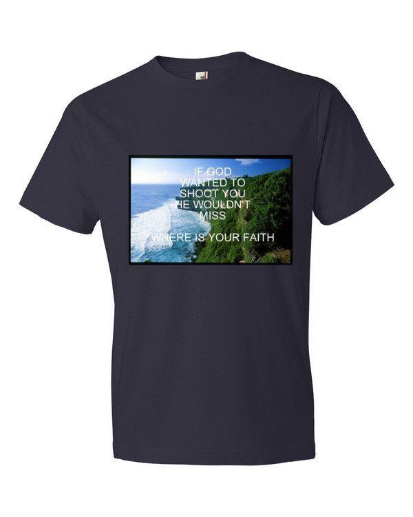 If God....Men's Short sleeve t-shirt