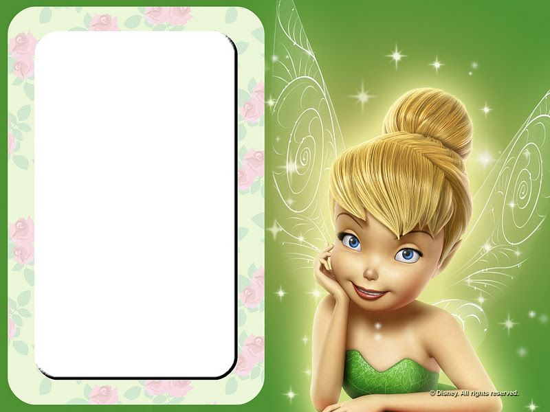 Tinkerbell Disney Fairies Party Free Printable Invitations Birthday