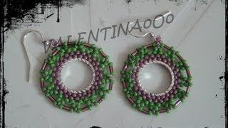 orecchini tutorial - YouTube