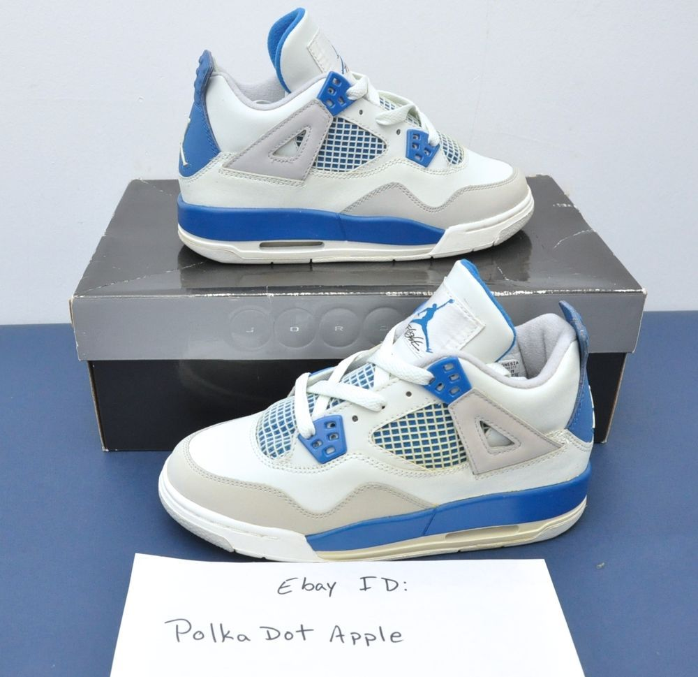 air jordan 4 retro military blue ebay star