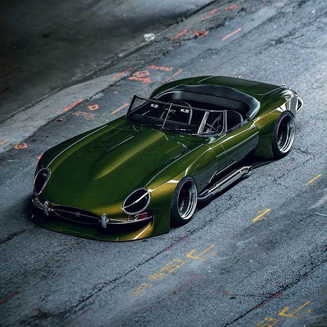 Jaguar Auto: For Those That Prefer The....simple Life. #art #design #3d