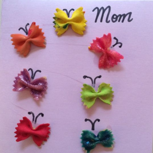 DIY Mother's Day Craft for children.