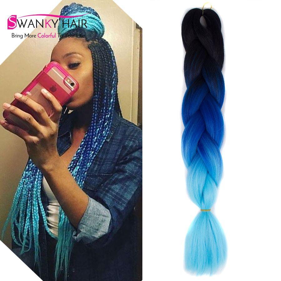 Aliexpress buy 24 100g multi colored hair extensions aliexpress buy 24 100g multi colored hair extensions synthetic braiding hair three pmusecretfo Images