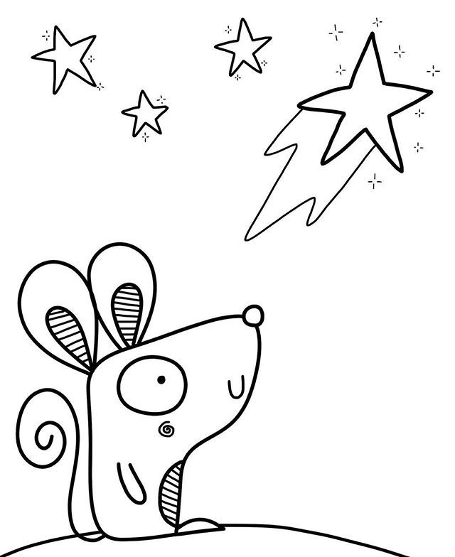 Day 21 of #inktober Make a LITTLE wish!!!!