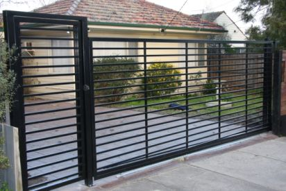 The Importance Of Automated Security Gates And Security Fencing Security Fence Security Gates House Gate Design