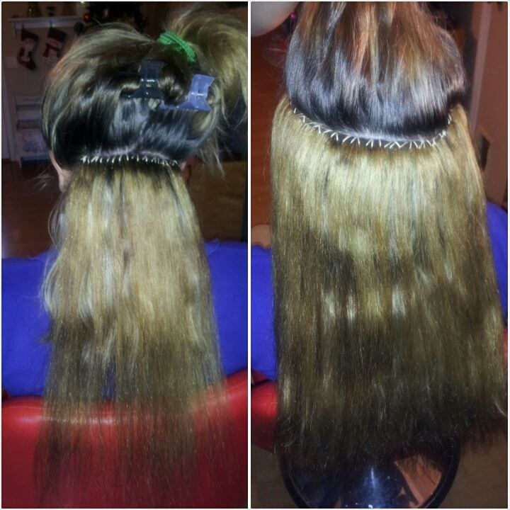 Beaded Sew In No Braids Hair Ways Pinterest Bead Sewing
