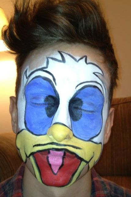 Donald Duck by Fays Painting
