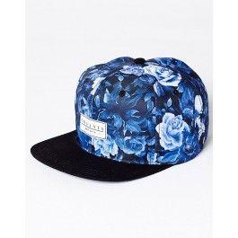 Florido azul    Boné Feminino Florido 285700b8905
