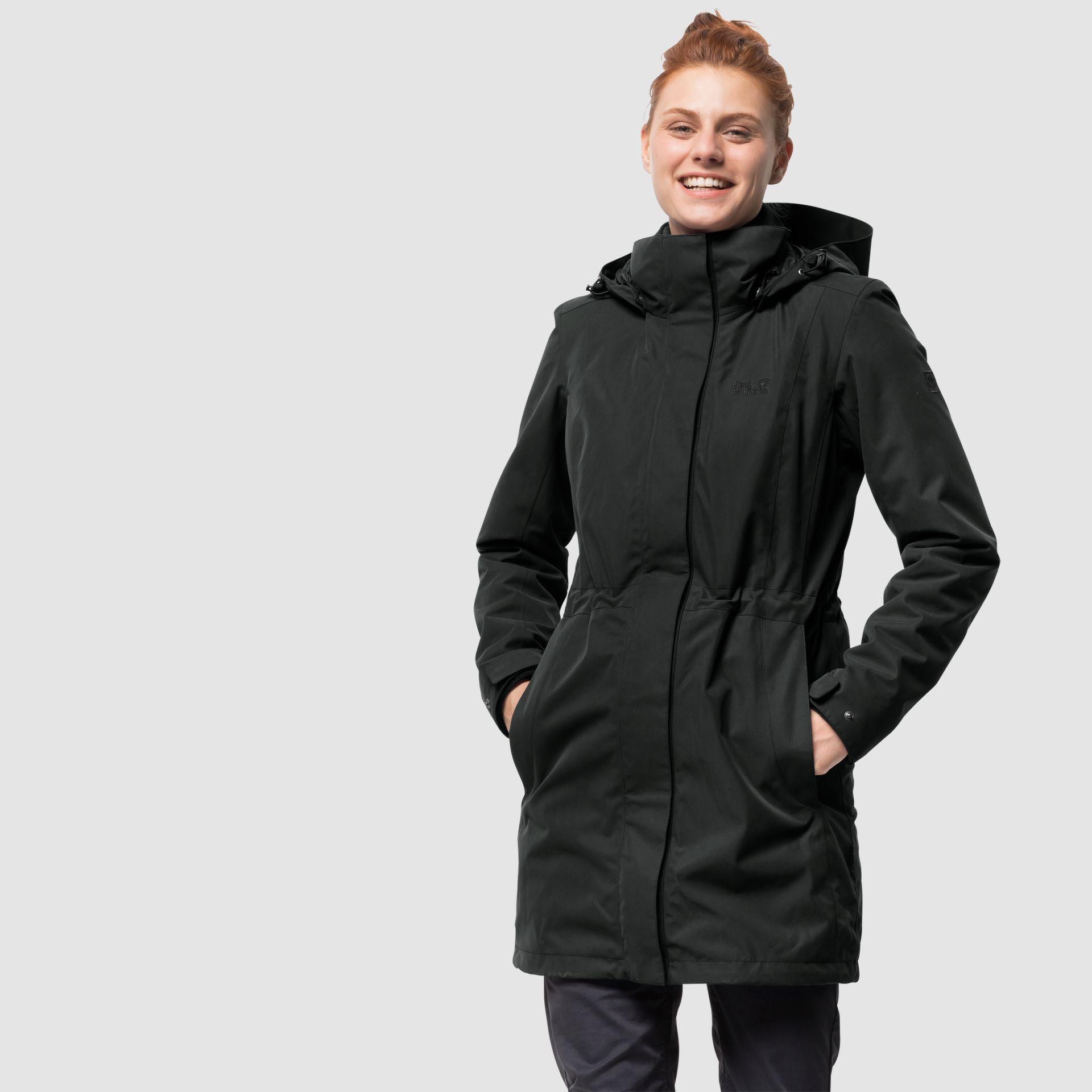 Ottawa Coat Coat Jack Wolfskin Capsule Wardrobe