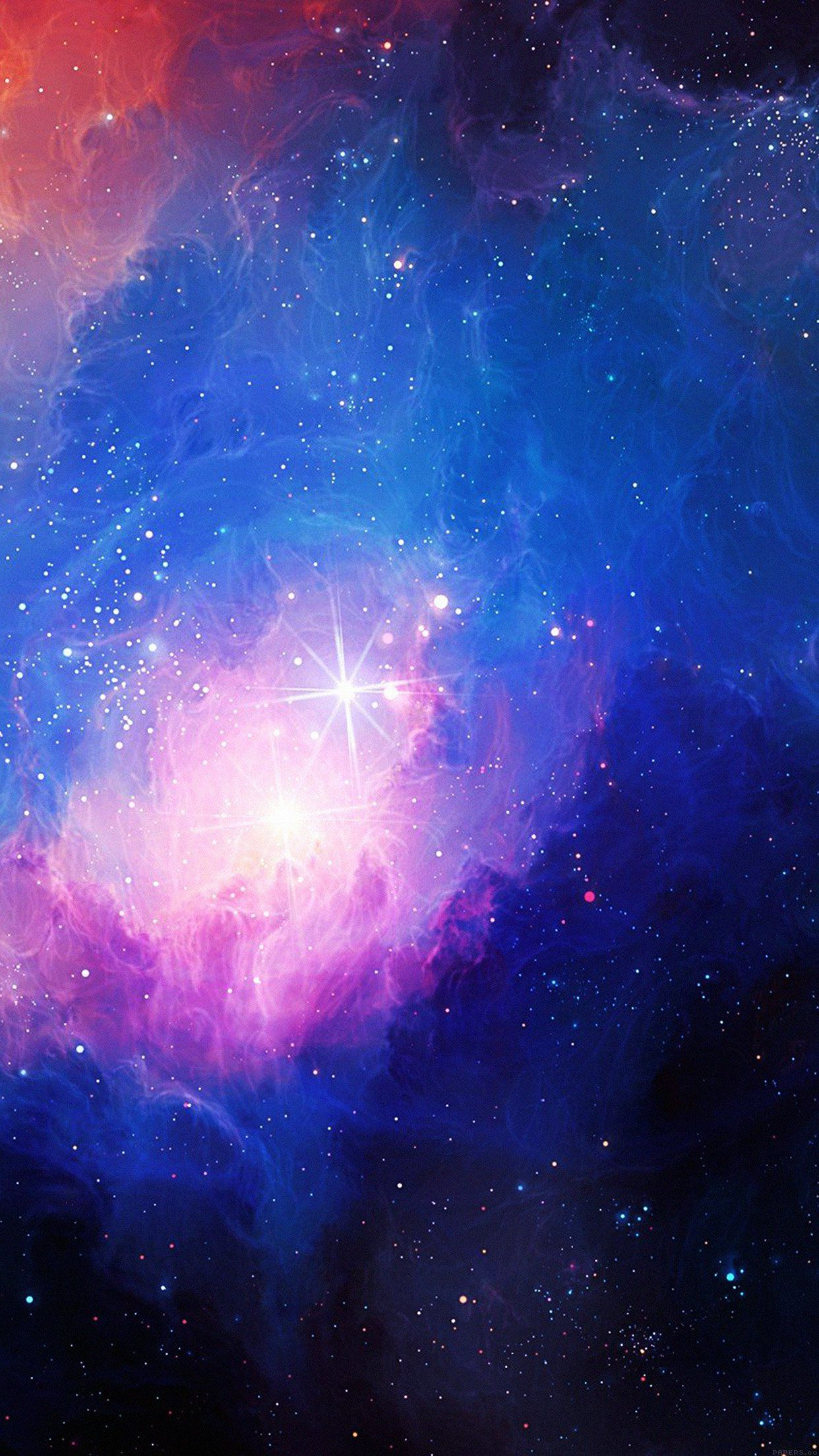 galaxy wallpapers for iPhone and iPad Galaxy