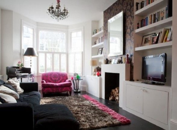 How to decorate a small living room Victorian living room
