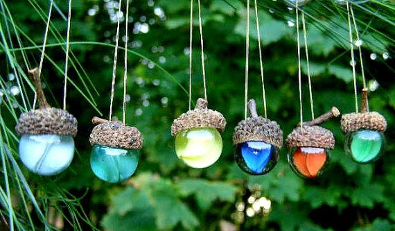 German Tradition - According to German tradition, the acorn is a symbol of life and luck. It is also a reminder that the smallest beginnings can grow mighty as the tiny acorn becomes the towering and majestic oak tree.