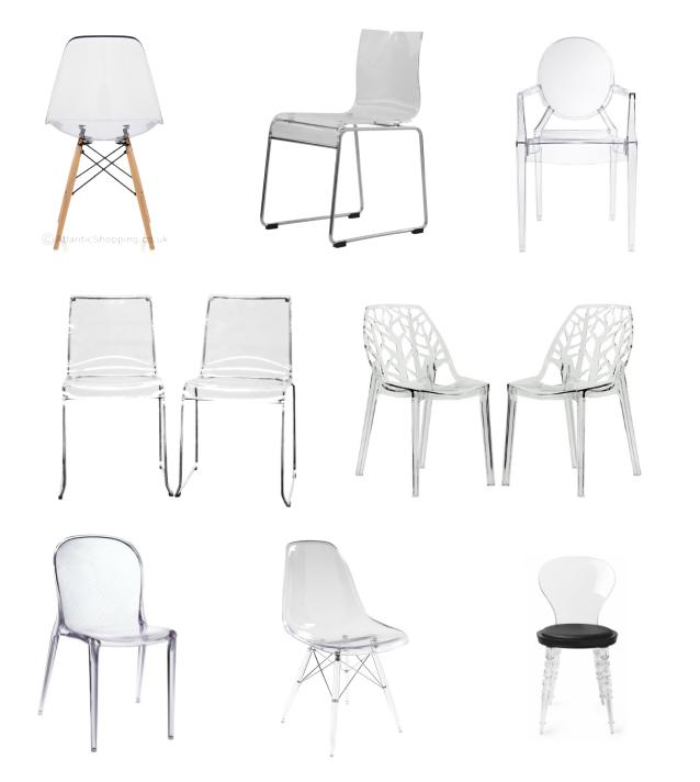 Sillas de comedor 5 tendencias llenas de estilo sillas for Sillas transparentes comedor