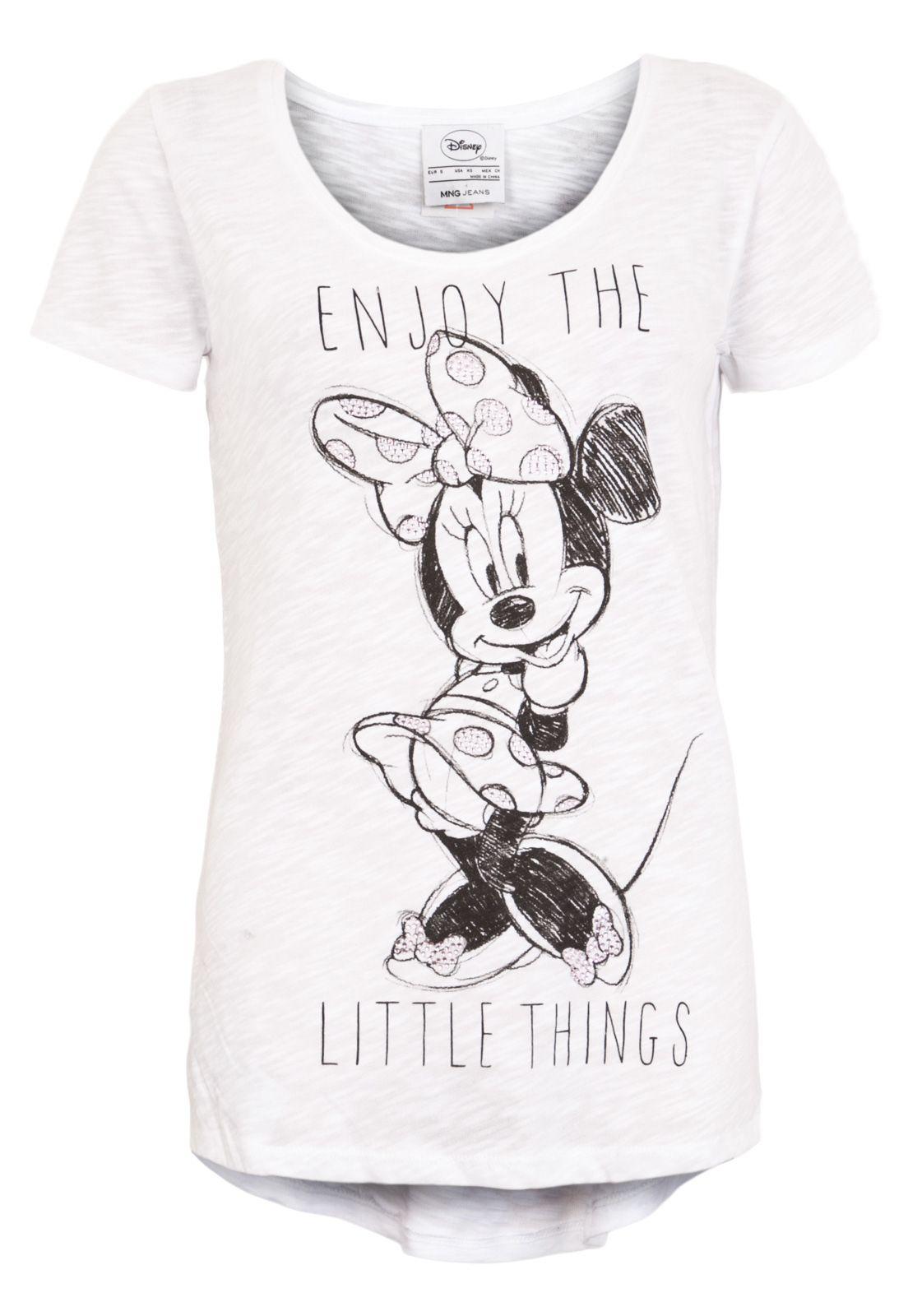 Camiseta MNG Barcelona Minnie Branca - Compre Agora  a7d21a7fbcff5