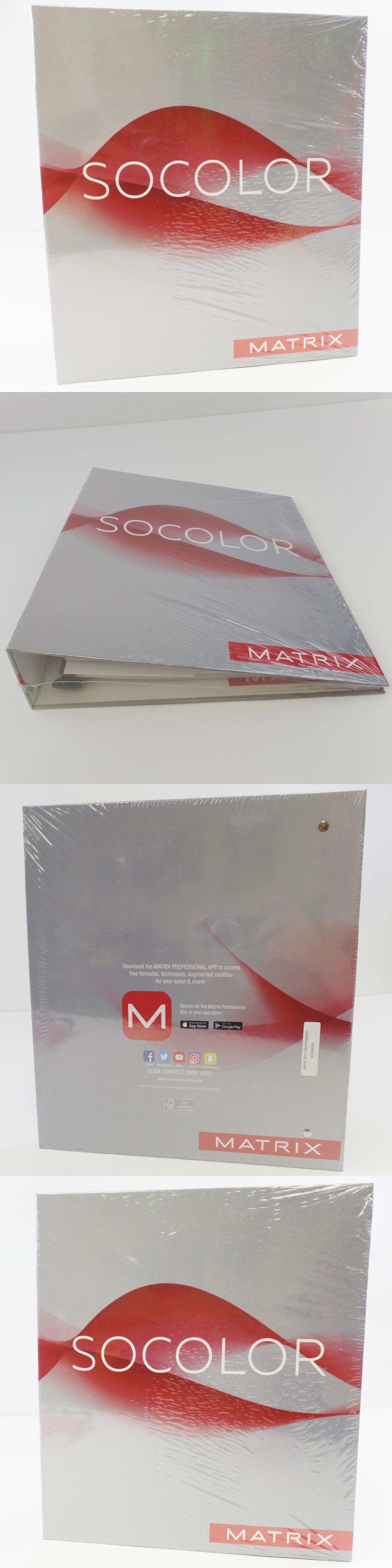 hair color matrix socolor swatch book sealed 2017 new buy it now only - Matrix So Color Swatch Book