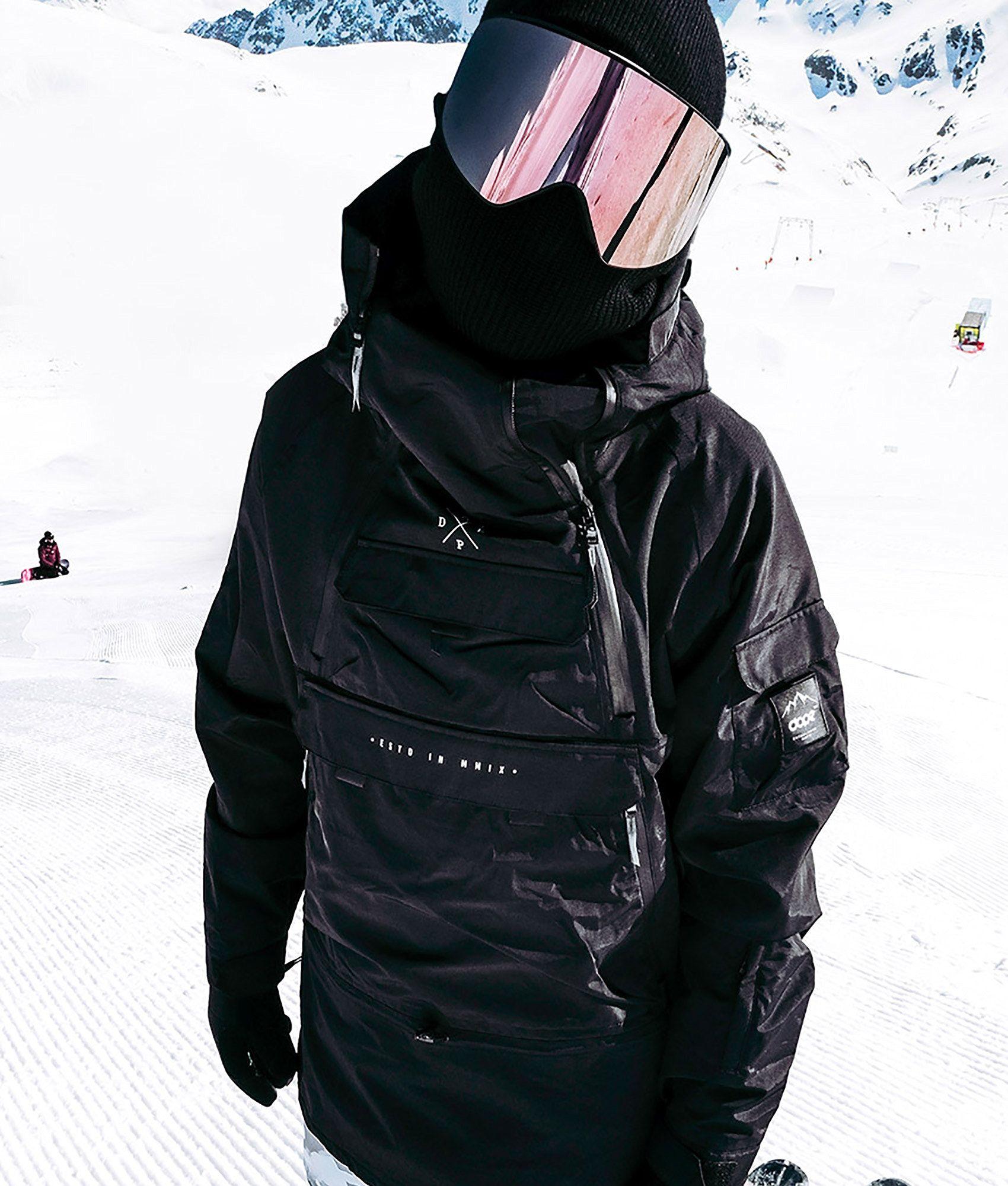 bde1045d1eb Dope Akin Snowboard Jacket Black