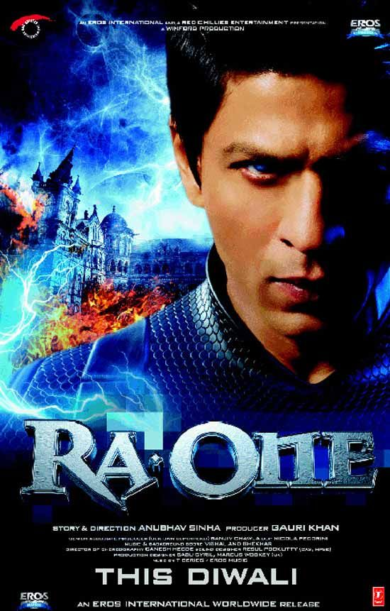 Ra One 2011 Shah Ruhk Khan Hindi Best Bollywood Movies Bad