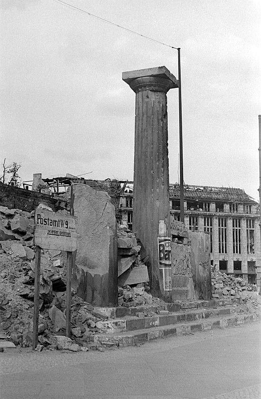 Fotos Aus Der Nachkriegszeit Architectura Pro Homine Leipziger Platz Berlin Spree Bilder