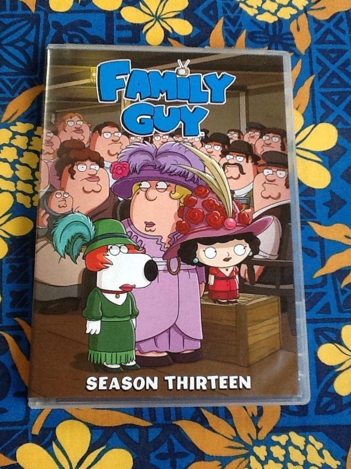 Family Guy Season 13 DVD 3 Disc 18 Episodes Like New Discs