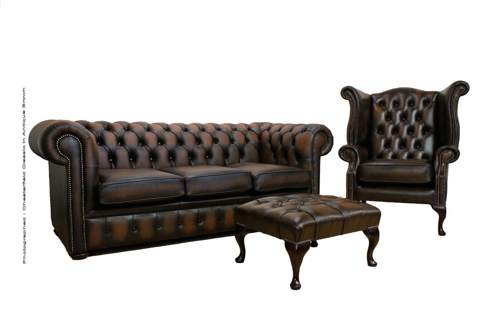 Second Hand Chesterfield Could Do The Job Designer Sofas 4 U Sofa Living Room Furniture Recliner Reclining Sofa