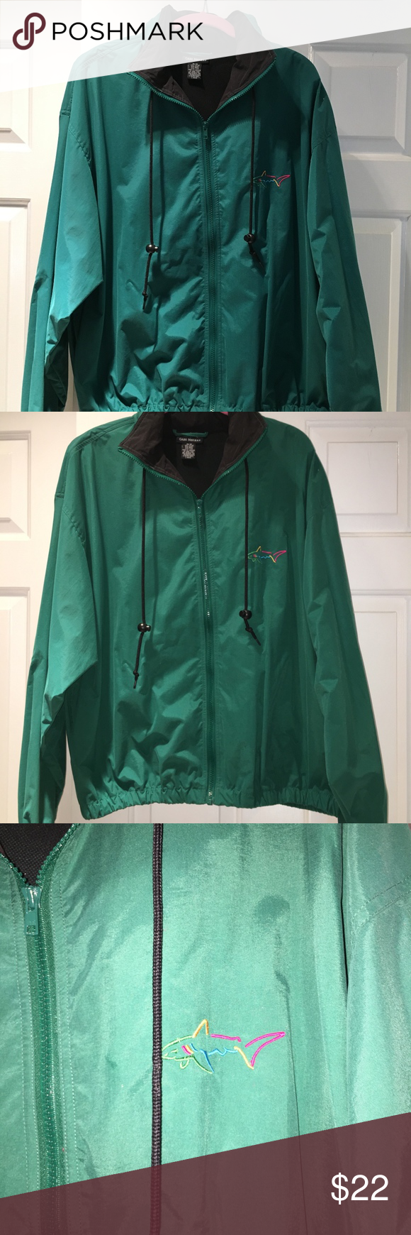 Greg Norman Men S Golf Windbreaker Jacket Windbreaker Jacket Jackets Clothes Design