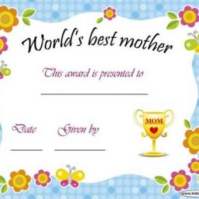 printable awards and certificates awards pinterest mom